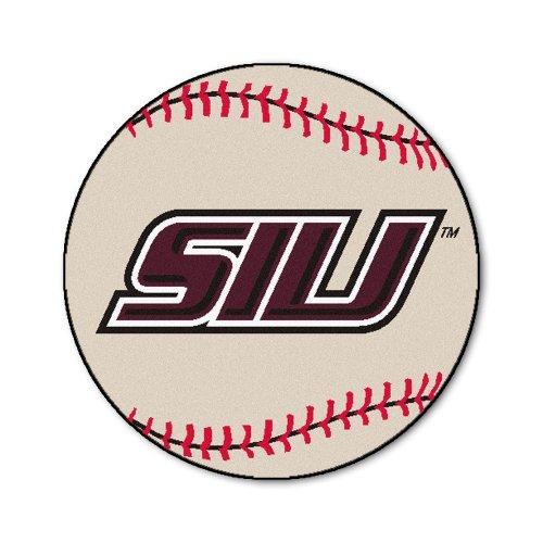 Illinois University Baseball Rug (FANMATS NCAA Southern Illinois University Salukis Nylon Face Baseball Rug)