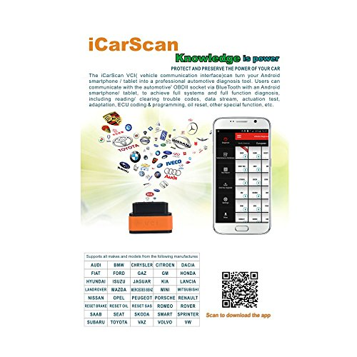 LAUNCH ICARSCAN DBSCAR Bluetooth Adapters for Android Get Free