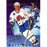 Mats Sundin Hockey Card 1992-93 Ultra Import #25 Mats Sundin