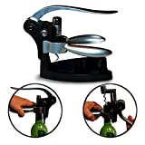 Rabbit Style Wine Opener Corkscrew with Foil Cutter