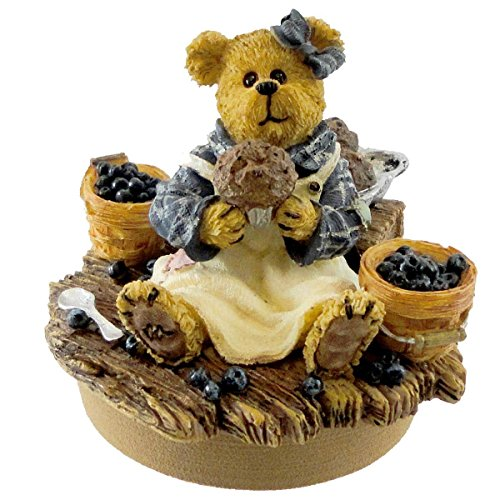 Muffin Blueberry Candle Topper Yankee
