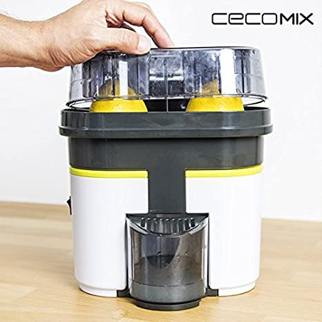 Euroweb Exprimidor eléctrico, con résrvoir extraíble - doble prensa zumo de naranja y de fruta: Amazon.es: Electrónica