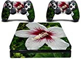 Skin for PS4 Slim Lily Flower Playsation 4 S Skin For Console and 2 Controllers Quote Me Printing