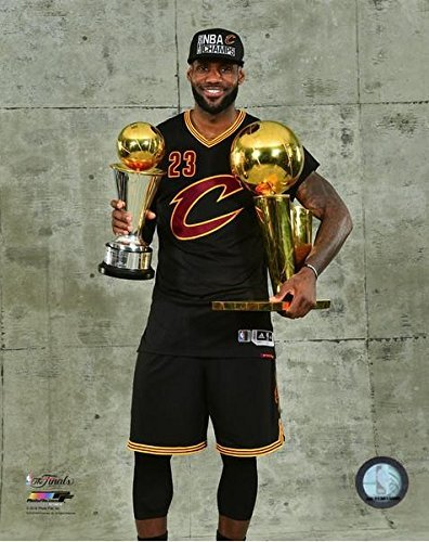 a8e8b45f447 Amazon.com  NBA Lebron James Cleveland Cavaliers 2016 Finals   MVP Trophies  Photo (8