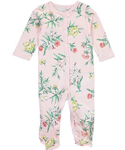 Carters Baby Girls Floral Footie