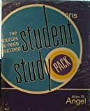 img - for Student Study Pack for Student Solutions Manual: Elementary Algebra for College Student Early Graphing (3rd Edition) by ALLEN R. ANGEL (2008-01-01) Paperback book / textbook / text book