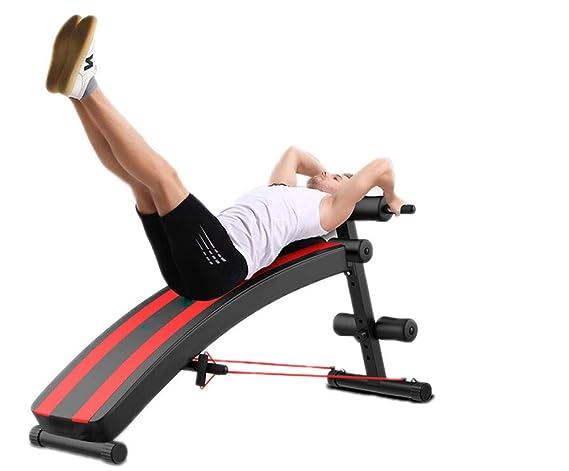 SJZC Banco De Ejercicios MusculacióN Ajustable Banco MusculacióN Mancuernas: Amazon.es: Deportes y aire libre