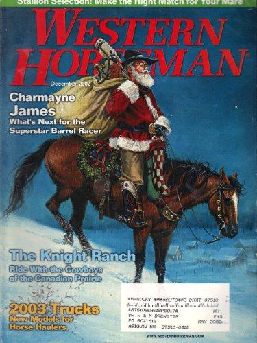 Western Horseman (December 2002, Vol. 67, No. 12)