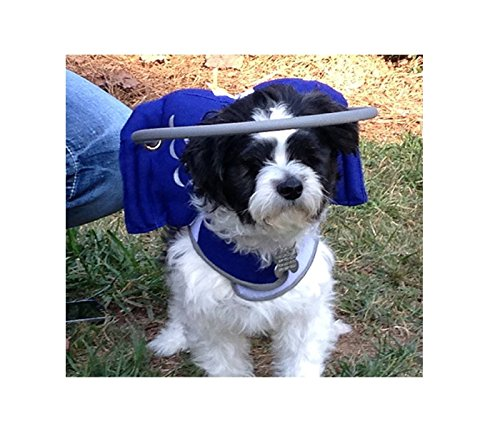 Muffin's Halo Blind Dog Harness Guide Device – Help for Blind Dogs or Visually Impaired Pets to Avoid Accidents & Build Confidence – Ideal Blind Dog Accessory to Navigate Surroundings ()
