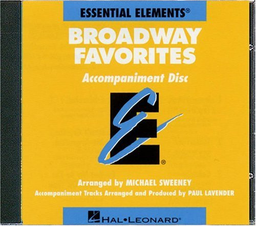 Essential Elements Correlated Arrangements - Essential Elements Broadway Favorites - CD Accompaniment