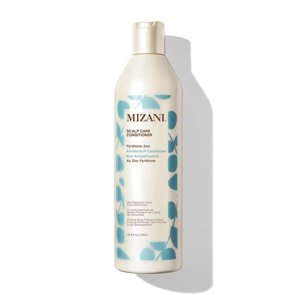 MIZANI Scalp Care Pyrithione Zinc Antidandruff Conditioner | Controls Scalp Flaking & Itching |For Curly Hair | 16.9 Fl. Oz.