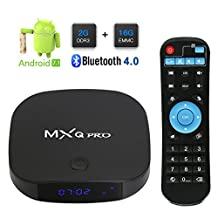 2018 Leelbox MXQ Pro Android 7.1 TV Box with 2GB+16GB/Dual Wifi 2.4G+5G/BT 4.0 Support 4K (60Hz) / H.265
