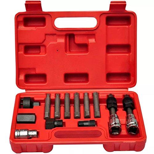 Tidyard Alternator Car Tool Kit Alternator tool set/repair/removal/pulley: Amazon.co.uk: Kitchen & Home