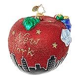 Christopher Radko Santa's Big Apple Destinations Christmas Ornament