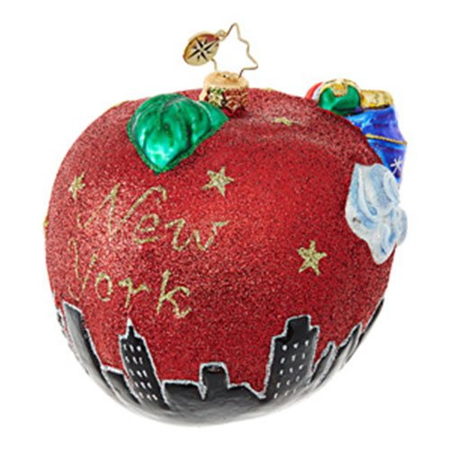 Christopher Radko Santa's Big Apple Destinations Christmas Ornament