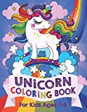 Unicorn Coloring Book: For Kids Ages 4-8 (US Edition): more info