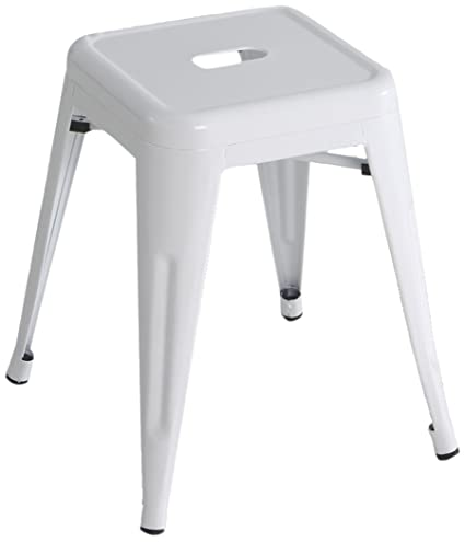 Fantastic Kit Closet Low Stool Metal White Amazon Co Uk Kitchen Home Gmtry Best Dining Table And Chair Ideas Images Gmtryco