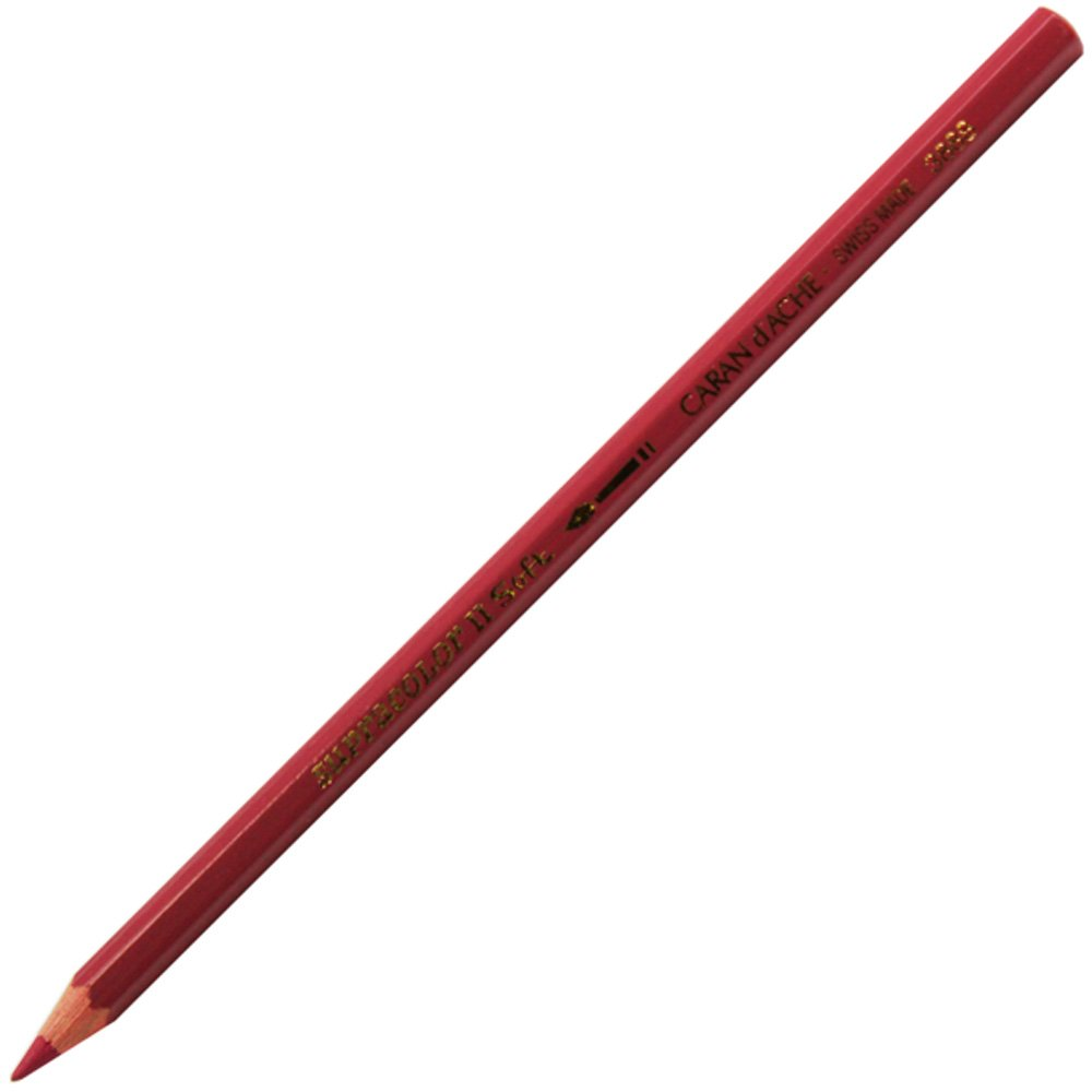 Crayon de couleur dartiste hydrosoluble Bordeaux Rouge Supracolor Soft Caran d Ache