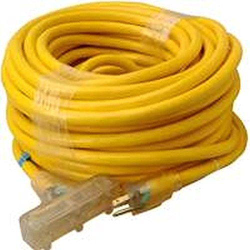 Coleman Cable 4389 10/3 SJTW Tri-Source Extension Cord wi...