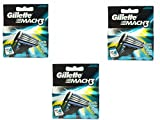 Gillétte Mach 3 Razor Refill Cartridges 10-Count (Packaging may vary)