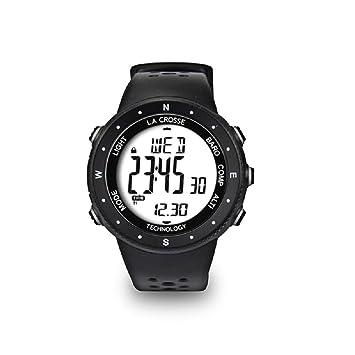 La Crosse Technology Reloj Altímetro, Barómetro, Brújula, Color WTXG17 Blanc: Amazon.es: Jardín