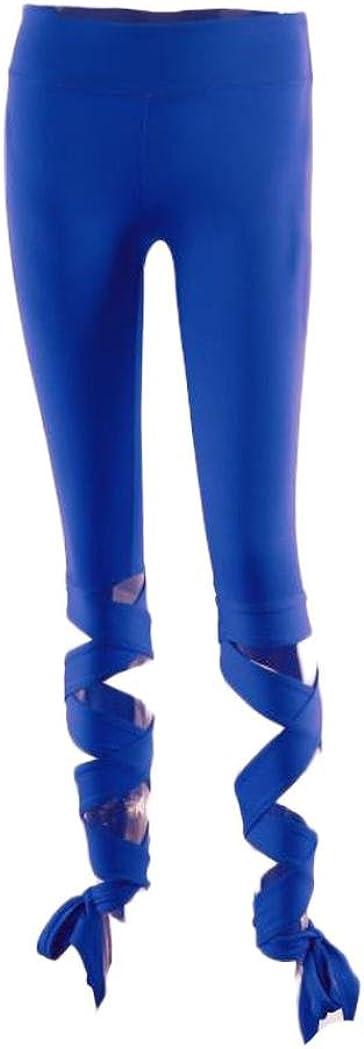 Covermason Women Bandage Stretchy Yoga Pants Flash Drying Sports Gym Workout Dance Athletic Leggings