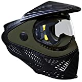 Tippmann Paintball Intrepid Paintball Goggle Mask - Black & Olive