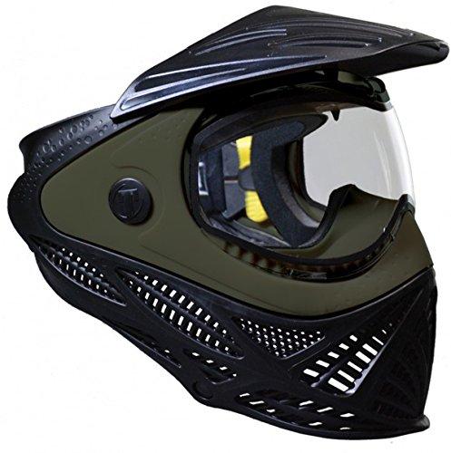 Paintball Mask Olive (Tippmann Paintball Intrepid Paintball Goggle Mask - Black & Olive)