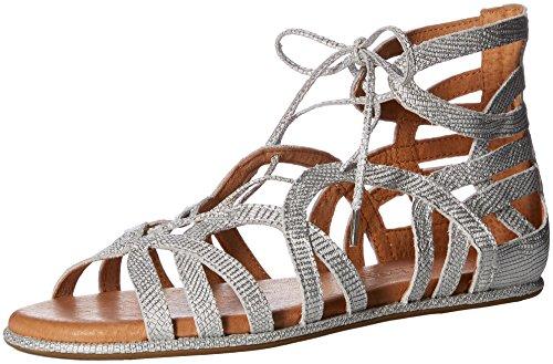 Rock Candy WoMen Blaker Sandal Silver Patent