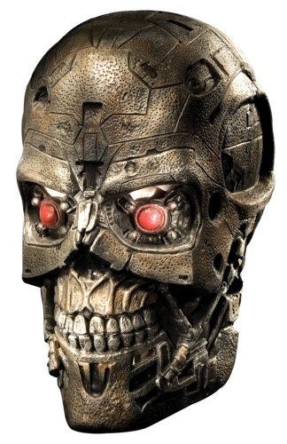 Terminator Salvation Movie T600 Deluxe Overhead Latex Mask