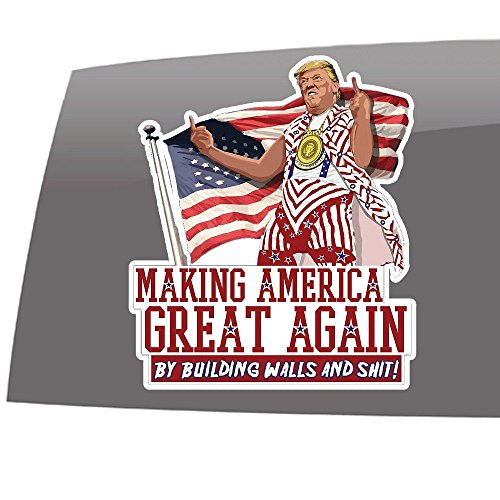 Trump - Making America Great Again - Idiocracy - 5 (Outdoor Vinyl Decal)
