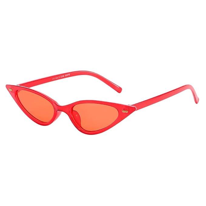Amazon.com: JJLIKER Gafas de sol retro vintage estrechas de ...
