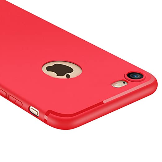 5 opinioni per Custodia iPhone 7, Yoowei® iPhone 7 Cover Alta Qualità Estremamente Sottile