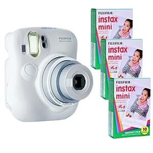 Fujifilm Instax Mini 25 Kit and 3 Fujifilm Instax Mini Film with 10 Exposures FU64-INM25WK30