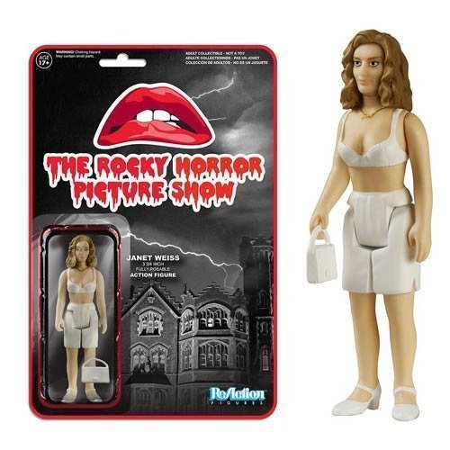 The Rocky Horror Picture Show Janet Weiss ReAction 3 3/4-Inch Retro Action Figure by Rocky Horror Picture Show