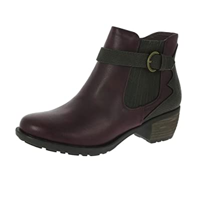 Heavenly Feet Danni Ankle Berry Stiefel EU38 Berry Ankle  Amazon   Schuhe ... c33db4