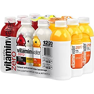 vitaminwater zero Variety Pack, 20 fl oz, 12 Count