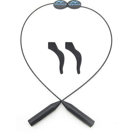 4512ffb0f0 TESHIUCK Adjustable Eyewear Retainer And Anti-Slip Hooks Sports Sunglass  Holder Straps