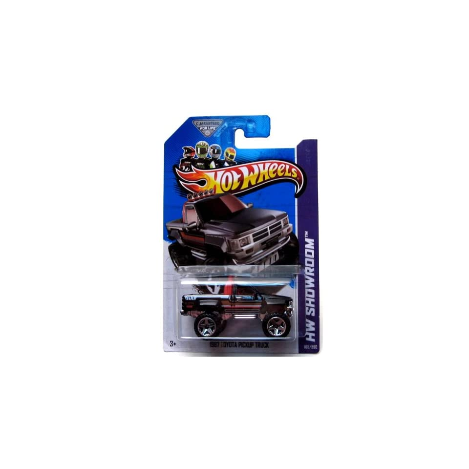 2013 Hot Wheels Hw Showroom 1987 Toyota Pickup Truck 165/250