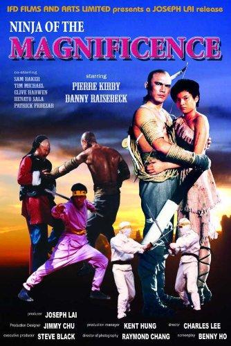 Ninja americano: el magnífico Póster de película Hong Kong ...