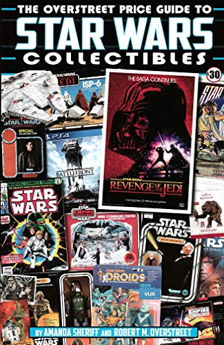 Overstreet Price Guide to Star Wars Collectibles (Gemstone, 2018) - New!