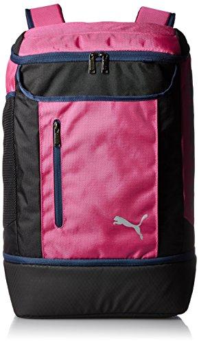 PUMA Backpack Active J SQ Backpack (Fusia Rose/Pea Coat) by PUMA