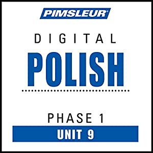Polish Phase 1, Unit 09 Audiobook