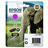 EPSON C13T24234012 Elephant Ink Cartridge for Expression Photo XP-960 Series, Magenta, Genuine