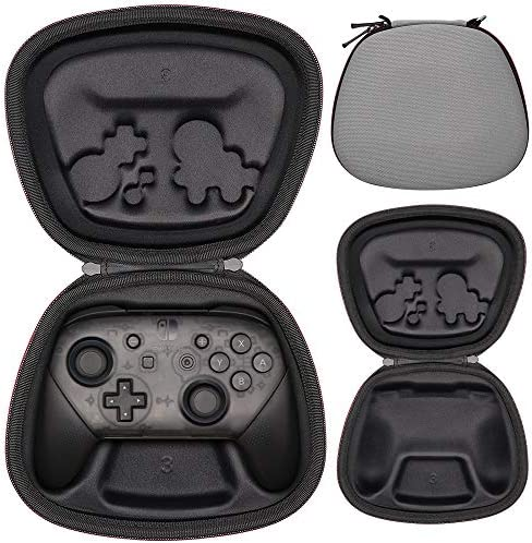 Sisma Funda rigida para Mando Pro de Nintendo Switch - Estuche de transporte para guardar y proteger Gamepad original de Nintendo Switch, Color Gris: Amazon.es: Videojuegos