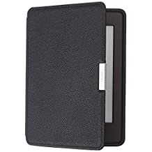 Amazon Funda de piel para Kindle Paperwhite, color negro ónix (sólo sirve para Kindle Paperwhite 5ª, 6ª, y 7ª generaciones)