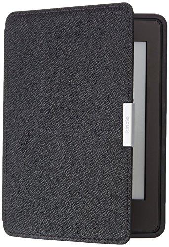 Amazon - tui en cuir pour Kindle Paperwhite Noir onyx - compatible avec toutes les gnrations de Kindle Paperwhite