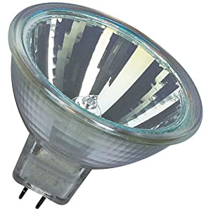 Osram Decostar 51s 44865WFL Halogen Lamp / 12 Volt 35 Watt/Socket Gu5.3 36 / Diameter 51 mm/Set of 10, CES, W, Warm White