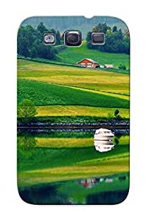 Galaxy S3 UIqFINN958ldGIU Nature Reflection Tpu Silicone Gel Case Cover For Lovers