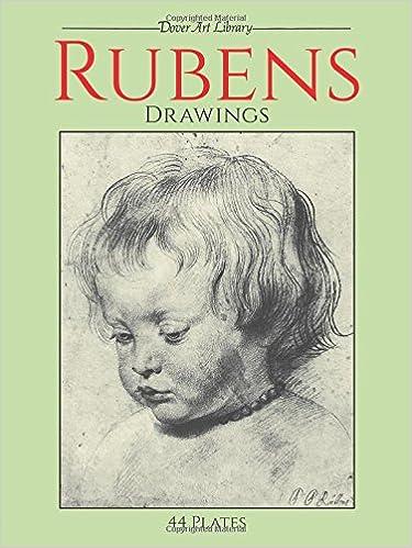 Rubens Drawings 44 Plates Dover Art Library Amazonde Sir Peter Paul Fremdsprachige Bucher